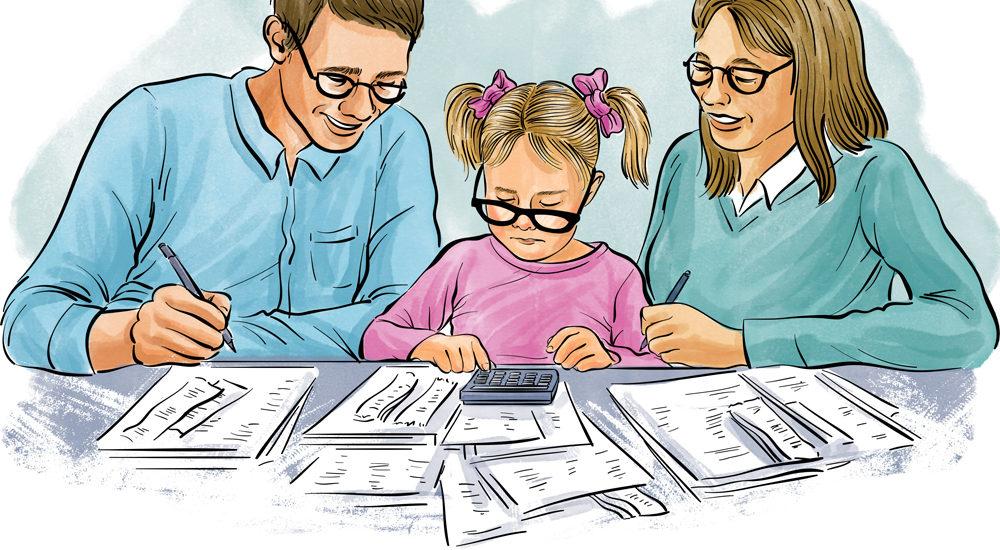 Baisse d'impôt pour les familles